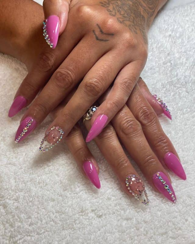 The Devil is in the Detail! #nailart by @msluze_hair in our #stuyvesantplaza location. #nails #nailsofinstagram #nailsonfleek #518nailtechs