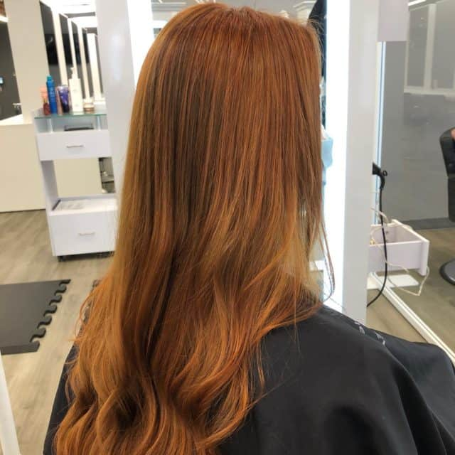 Take a look at this #transformation by @bethsalehhair. This client came in through @meetyourstylist on our website and she was matched with Beth! She had some left over #arcticfoxhaircolor from #Halloween so she was considered a #colorcorrection. Beth did her #hairmagic 🙌🏻 #hairgod #hairgoals #wellahair #wellaprofessional #copperhair #olaplex #behindthechair #modernsalon #oribe #albanyhairstylist #evolvewithjp